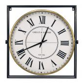 Horloge Pivotante en Métal