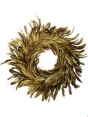 Couronne Plumes Or Hoff