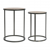 Tables Gigogne Chalet x 2