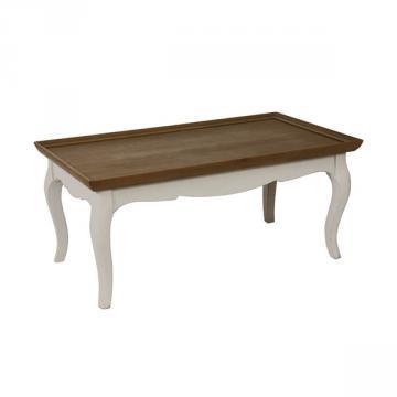 Table Basse Manoir Blanc Vieilli