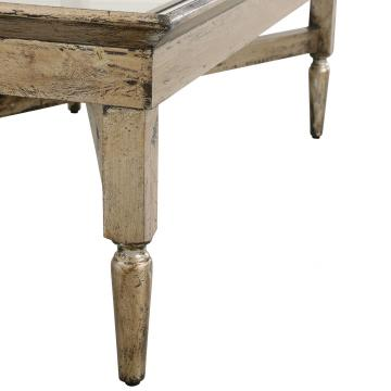 Table Basse Bois / Miroir