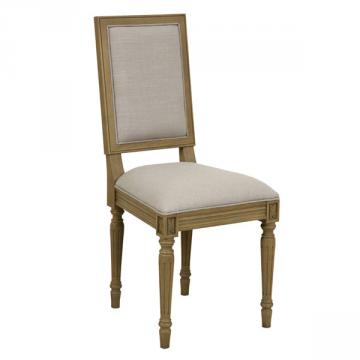 Chaise Honorine, Assise Tissu