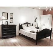 Lit Romance Noir 90 x 190cm