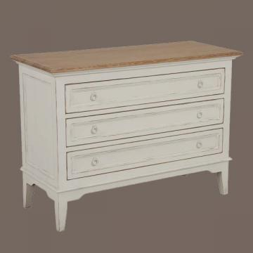 Commode Esquisse Blanche