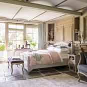 Lit Château & Dépendances Gris 160x200cm