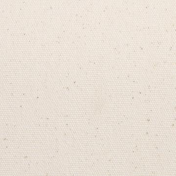 Chaise Gustavien Blanc Vieilli Assise Tissu