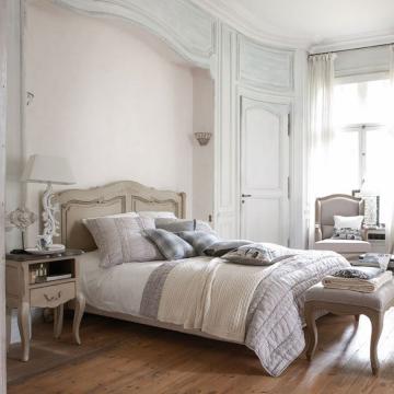 Lit Château & Dépendances Grège 160x200