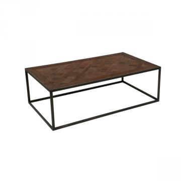 table basse rectangulaire loft nouveau tables basses style campagne. Black Bedroom Furniture Sets. Home Design Ideas