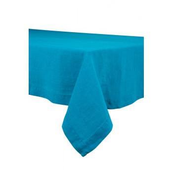 Nappe Naïs Lin lavé Turquoise