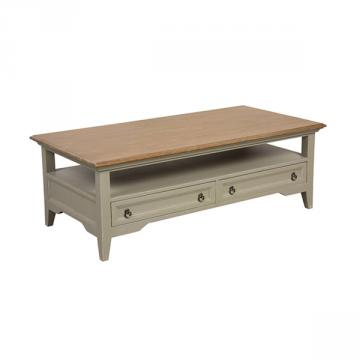 Table Basse Esquisse Gris Plume