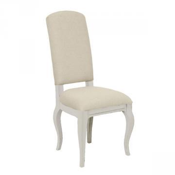 Chaise Manoir Blanc Vieilli