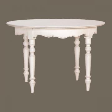 table ronde allonges 4 pieds harmonie tables et. Black Bedroom Furniture Sets. Home Design Ideas