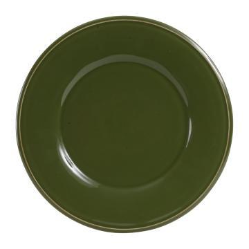Assiette Constance Vert (2 tailles)