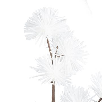 Fleur Cassia Blanc 125cm
