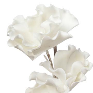 Fleur Jacaranda Blanc 80cm