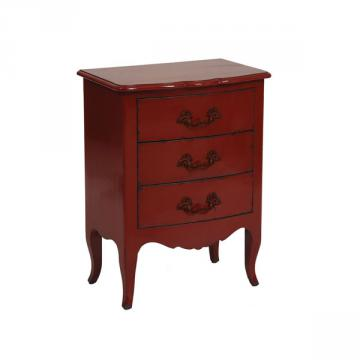 Petite Commode Seville Rouge