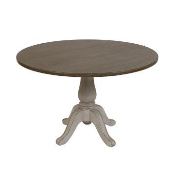 Table Ronde Ø120 Château & Dépendances Gris