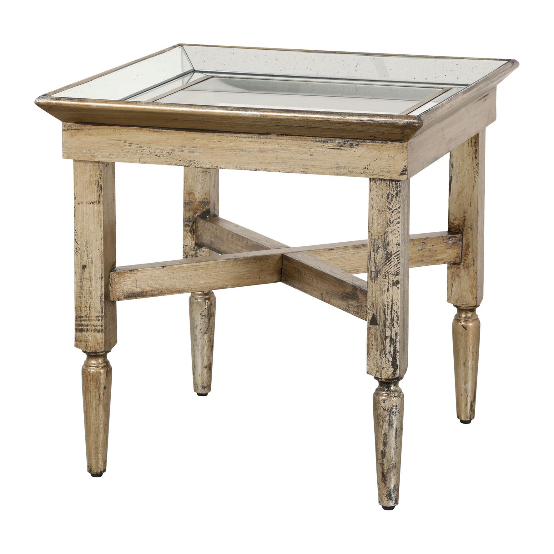 134_Bout-de-Canape-Bois-Miroir Unique De Nappe Pour Table Basse Schème