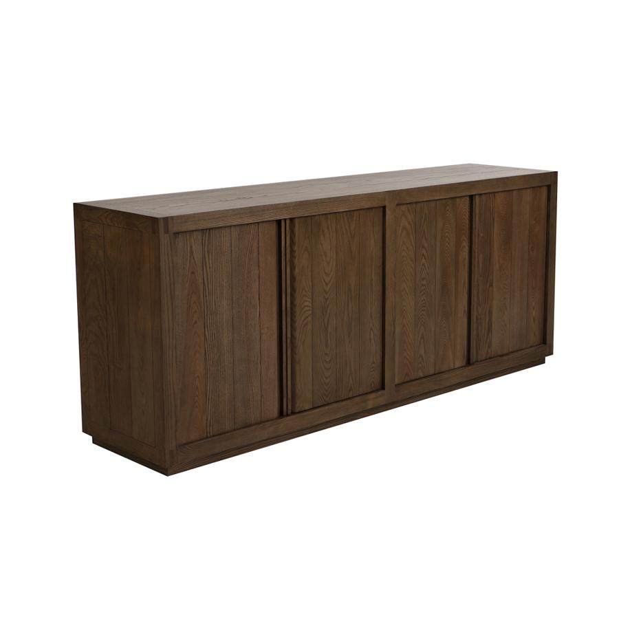 buffet bas 4 portes 2 tiroirs basale nouveau buffets. Black Bedroom Furniture Sets. Home Design Ideas