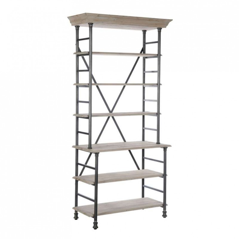 Etag re simple enrep t biblioth ques et vitrines style for Etagere campagne chic